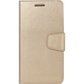 Book Case for Huawei P9 Lite - Gold Element
