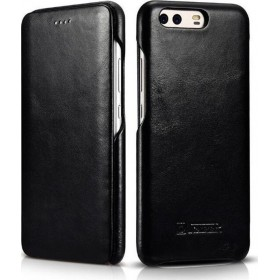 iCarer Curved Edge Vintage Μαύρο (Huawei P10)