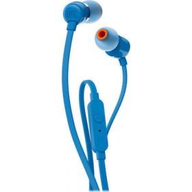 JBL T110 In-ear Handsfree με Βύσμα 3.5mm Μπλε