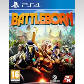 PS4 BATTLEBORN (INCLUDES FIRSTBORN PACK  and  CHARACTERS CARDS) (EU)