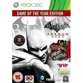 X360 BATMAN : ARKHAM CITY - GAME OF THE YEAR EDITION (EU)