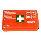 AMIO Σετ πρώτων βοηθειών 01691 για οχήματα, 44 τεμαχίων- AMIO