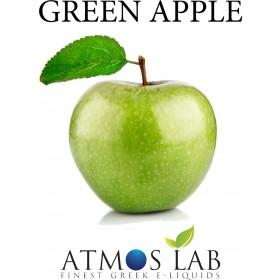 ATMOS LAB υγρό ατμίσματος Green Apple, Balanced, 0mg νικοτίνη, 10ml- ATMOS LAB