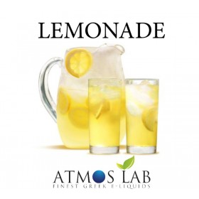 ATMOS LAB υγρό ατμίσματος Lemonade, Balanced, 6mg νικοτίνη, 10ml- ATMOS LAB