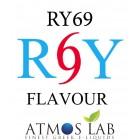 ATMOS LAB υγρό ατμίσματος RY69, Mist, 6mg νικοτίνη, 10ml- ATMOS LAB