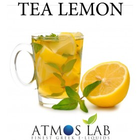 ATMOS LAB υγρό ατμίσματος Lemon Tea, Balanced, 6mg νικοτίνη, 10ml- ATMOS LAB