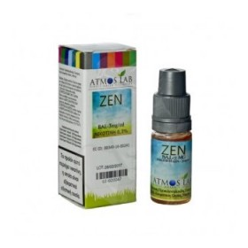 ATMOS LAB υγρό ατμίσματος Zen, Balanced, 3mg νικοτίνη, 10ml- ATMOS LAB