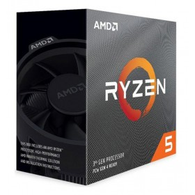 AMD CPU Ryzen 5 3600, 3.6GHz, 6 Cores, AM4, 35MB, Wraith Stealth cooler- AMD