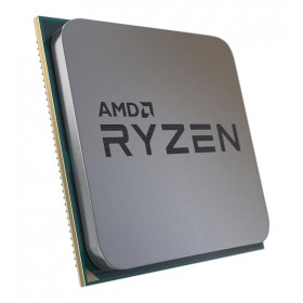 AMD CPU Ryzen 5 5600X, 3.7GHz, 6 Cores, AM4, 35MB, tray με cooler- AMD