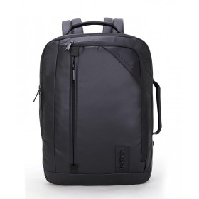 ARCTIC HUNTER τσάντα πλάτης 1500346-BK, laptop, αδιάβροχη, μαύρη- ARCTIC HUNTER