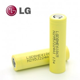 LG Μπαταρία HE4 18650, 2500mAh, 20A, High Drain, 2τεμ- LG