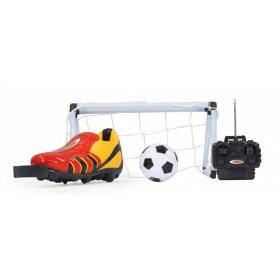 JAMARA Τηλεκατευθυνόμενο ποδοσφαιρικό σετ Kick it Radio control, κόκκινο- JAMARA
