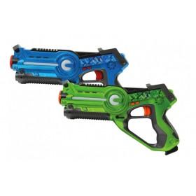 JAMARA Impulse laser set μάχης με ήχο, LED, δόνηση, 4 ρυθμίσεις όπλου- JAMARA