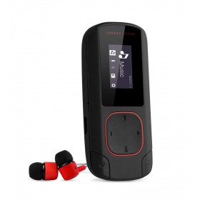 ENERGY SISTEM MP3 Player Clip, Bluetooth, LCD, coral- ENERGY SISTEM