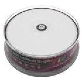 MR CD-R 700MB  52x - Cake 25  inkjet FF printable- MediaRange - MR202