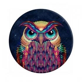 Sticky Pad για smartphone, πολλαπλών χρήσεων, Owl- BULK