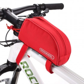 ROSWHEEL Τσάντα ποδηλάτου με ιμάντες πρόσδεσης, Red- ROSWHEEL