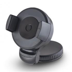 Bάση αυτοκινήτου για κινητά τηλέφωνα και GPS, μαύρη- BULK