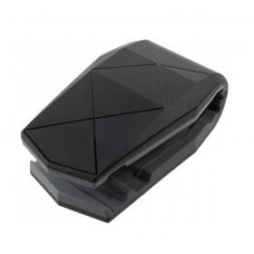 Βάση αυτοκινήτου Aligator clip ACC-235 για smartphone, μαύρη- UNBRANDED