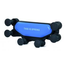 Βάση αεραγωγού αυτοκινήτου για smartphone ACC-244, μπλε- UNBRANDED