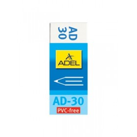 ADEL Γόμα Λευκή AD-30, τεμάχιο- ADEL