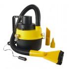 Φορητή σκούπα αυτοκινήτου AG149, 100W, υγρό-στεγνό καθάρισμα, κίτρινη- UNBRANDED