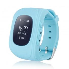 GPS Παιδικό ρολόι χειρός Q50, SOS-Βηματομετρητής, Blue- BULK