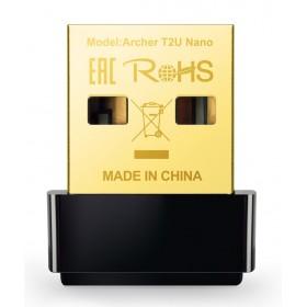 TP-LINK Ασύρματο Nano USB Adapter AC600 ARCHER-T2UNANO, Ver. 1.0- TP-LINK
