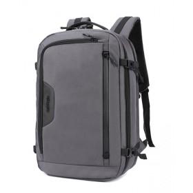 ARCTIC HUNTER τσάντα πλάτης B-00183-GY με θήκη laptop, αδιάβροχη, γκρι- ARCTIC HUNTER