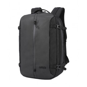 ARCTIC HUNTER τσάντα πλάτης B-00189-BK, laptop, αδιάβροχη, μαύρη- ARCTIC HUNTER