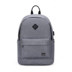ARCTIC HUNTER τσάντα πλάτης B-00290-LG, laptop, αδιάβροχη, ανοιχτό γκρί- ARCTIC HUNTER