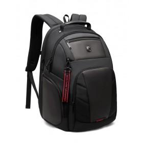 ARCTIC HUNTER τσάντα πλάτης B-00341-BK με θήκη laptop, μαύρη- ARCTIC HUNTER