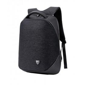 ARCTIC HUNTER τσάντα πλάτης B00193-BK, laptop, USB, αδιάβροχη, μαύρη- ARCTIC HUNTER