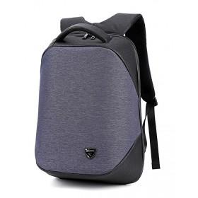 ARCTIC HUNTER τσάντα πλάτης B00193-GY, laptop, USB, αδιάβροχη, γκρι- ARCTIC HUNTER