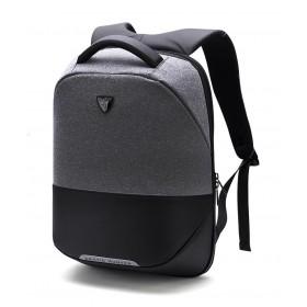 ARCTIC HUNTER τσάντα πλάτης B00216-DG, laptop, USB, αδιάβροχη, σκούρο γκρί- ARCTIC HUNTER