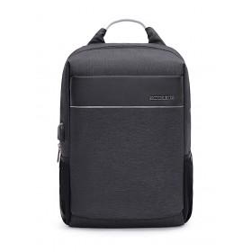 ARCTIC HUNTER τσάντα πλάτης B00218-GY, laptop, USB, αδιάβροχη, γκρι- ARCTIC HUNTER