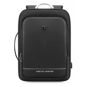 ARCTIC HUNTER τσάντα πλάτης B00227-BK με θήκη laptop 17