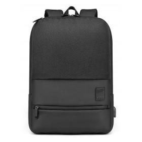 ARCTIC HUNTER τσάντα πλάτης B00360-BK με θήκη laptop 15.6