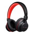MPOW bluetooth headphones Η1 BMBH142BR, fast charging, μαύρο-κόκκινο- MPOW