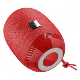 BOROFONE φορητό ηχείο BR6, BT/FM/3.5mm/USB/SD Card, κόκκινο- BOROFONE