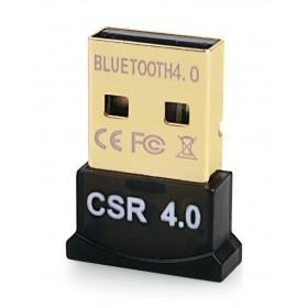 Bluetooth V4.0 & EDR USB Δέκτης, Plug & Play, 20m εμβέλεια max- BULK