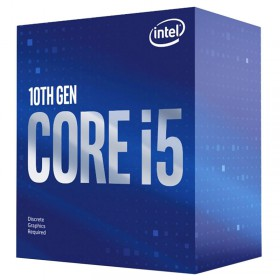 INTEL CPU Core i5-10400F, Six Core, 2.9GHz, 12MB Cache, LGA1200- INTEL