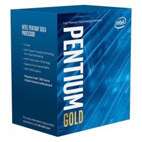 INTEL CPU Pentium Gold G6400, Dual Core, 4GHz, 4MB Cache, LGA1200- INTEL