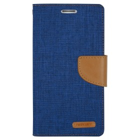 MERCURY Θήκη Canvas Diary για LG Optimus G4, Navy- MERCURY