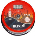 MAXELL CD-R 80min 16x 25 Cake box Audio music xl-ii- MAXELL - CD0094