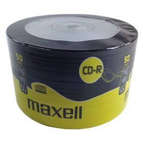 MAXELL CD-R 80min, 700ΜΒ, 52x, 50τμχ Spindle pack- MAXELL