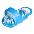 EASY FEET Παντόφλα μασάζ, καθαρισμού & απολέπισης ποδιών CLN-0005, μπλε- POWERTECH