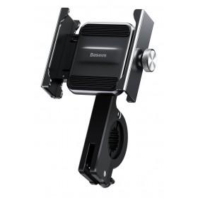 BASEUS βάση μηχανής για smartphone CRJBZ-01 Knight, μεταλλική, μαύρη- BASEUS