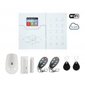 Ασύρματος κεντρικός πίνακας συναγερμού DS-VGW Kit, Πληκτρολόγιο LCD- UNBRANDED