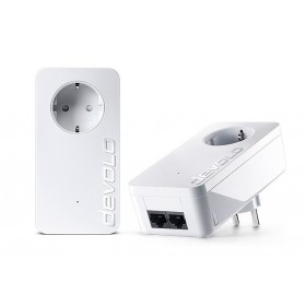 DEVOLO Powerline dLan 1000 duo+ 08117 Starter KIT, 2x adapters, 1000Mbps- DEVOLO